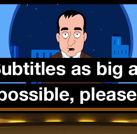 Adjust Subtitles