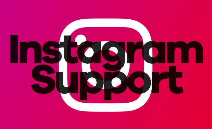 Instagram Support